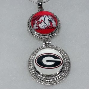 Georgia Bulldogs Necklace